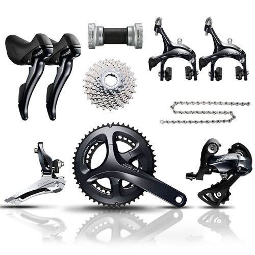 Shimano Sora R3000 Full Groupset Double 9 Speed
